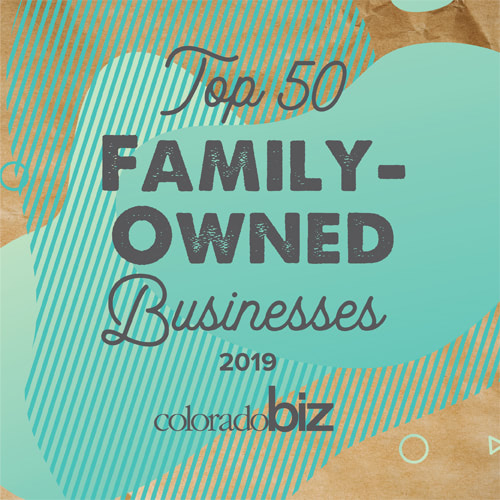 Top 50 family owned business award 2019