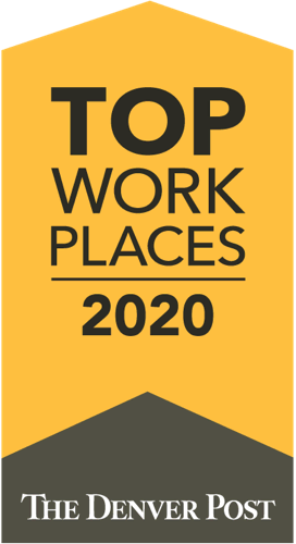 Denver Post top places to work award 2020