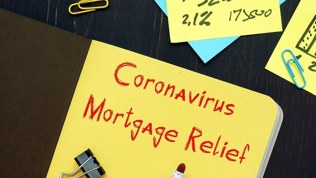 Coronavirus mortgage relief information